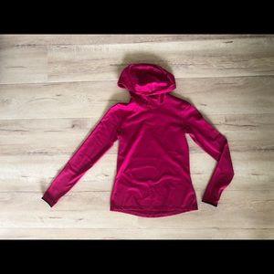 Fuscia Nike cowneck pullover